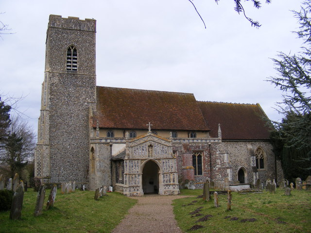 St.Mary the Virgin Church, Huntingfield
