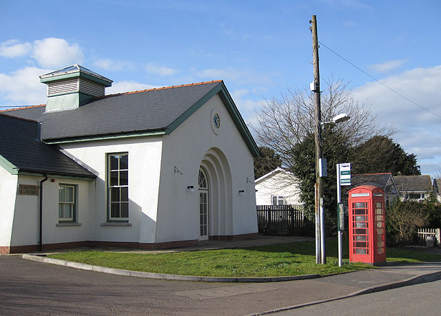 K6 phonebox at Dingestow