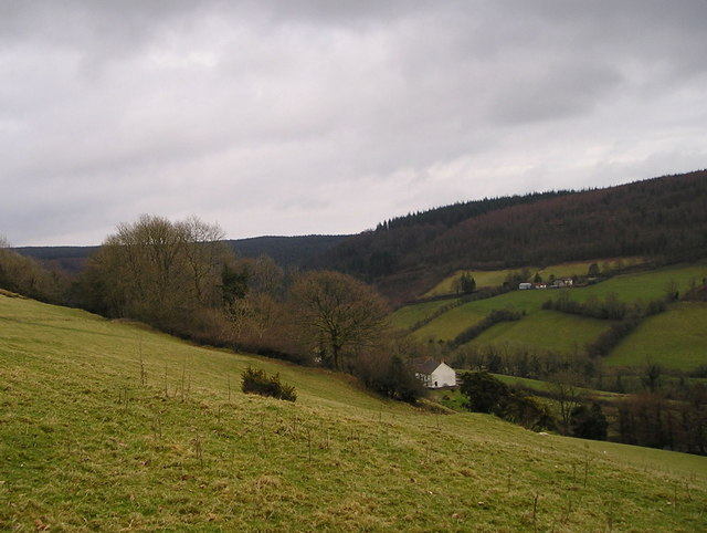 The Upper Gwili Valley