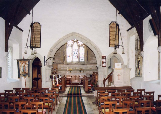 St Olave, Gatcombe - East end