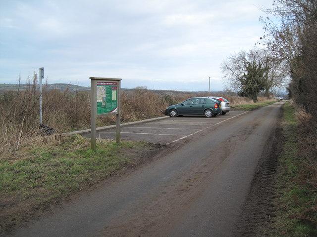 Car-park near Cilcain