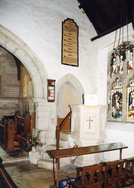 St Olave, Gatcombe - Pulpit