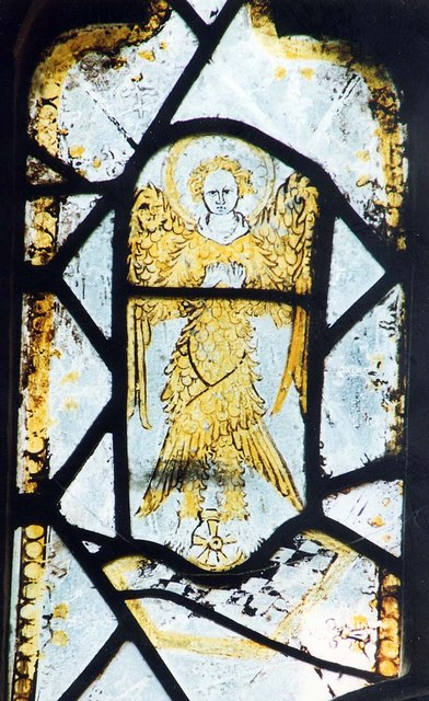 St Olave, Gatcombe - Window