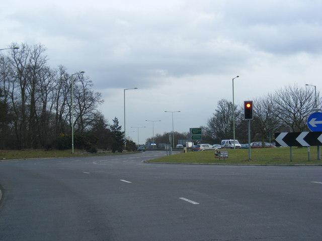 A12 Roundabout, Martlesham