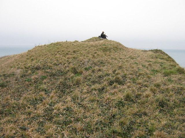 The summit of Maen Gwenonwy