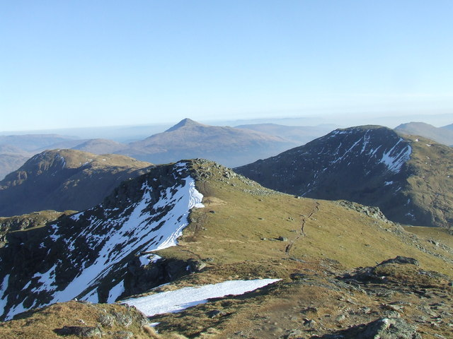 Ben Lomond from Beinn Ime