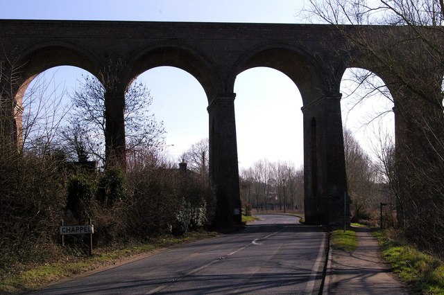 Chappel viaduct, Wakes Colne