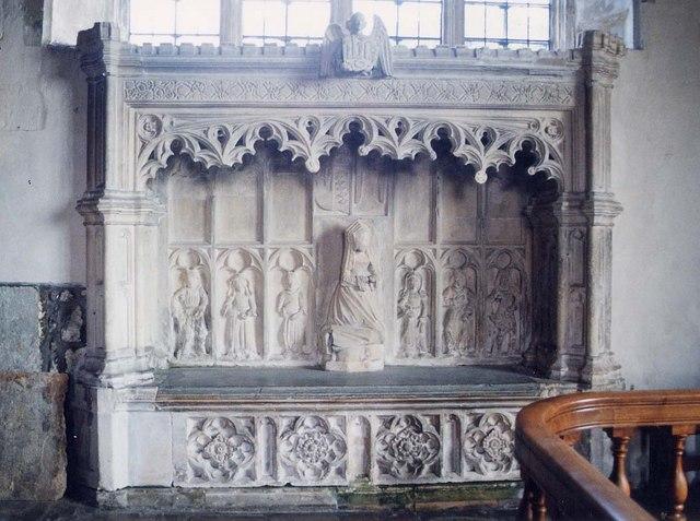 St Mary, Carisbrooke - Monument