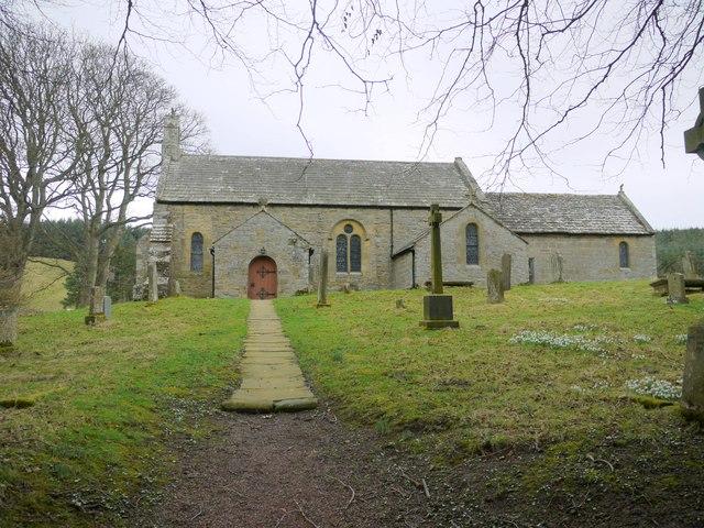 Church of St Michael,  Alnham