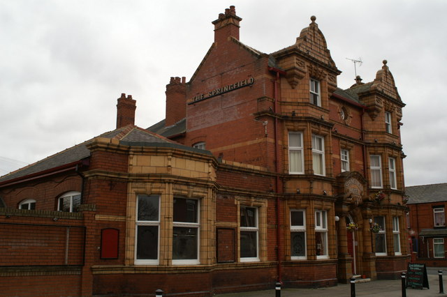The Springfield, on the corner of Springfield Road and Rylands Avenue