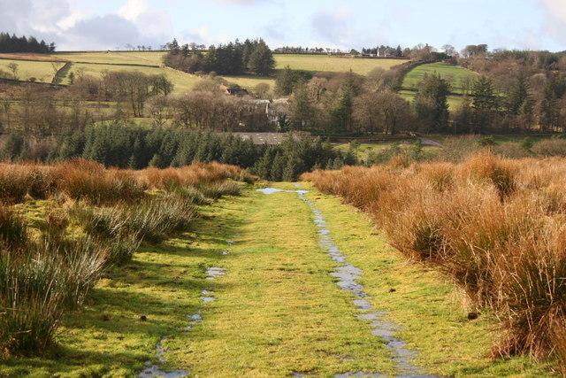 Dartmoor Way approaching Bullpark
