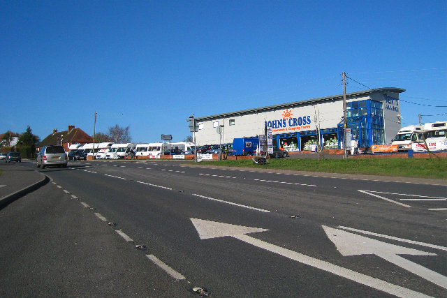 Caravan and Camping Centre,  John's Cross