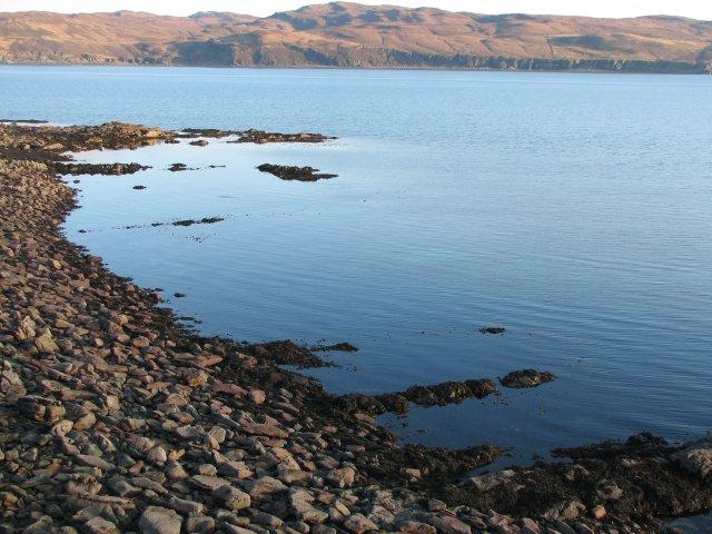 Ringill coastline