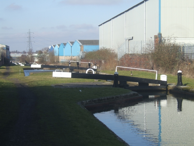 Ryder's Green Locks - Walsall Canal - Lock No 3