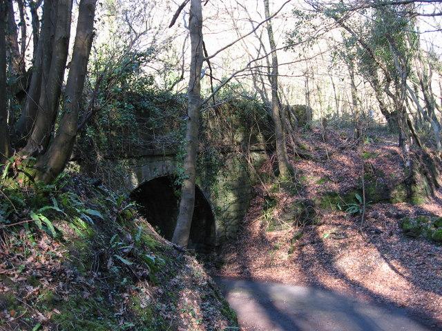 Old railway bridge, near Taff's Well