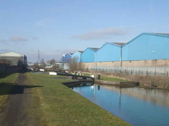 Ryder's Green Locks - Walsall Canal - Lock No 4