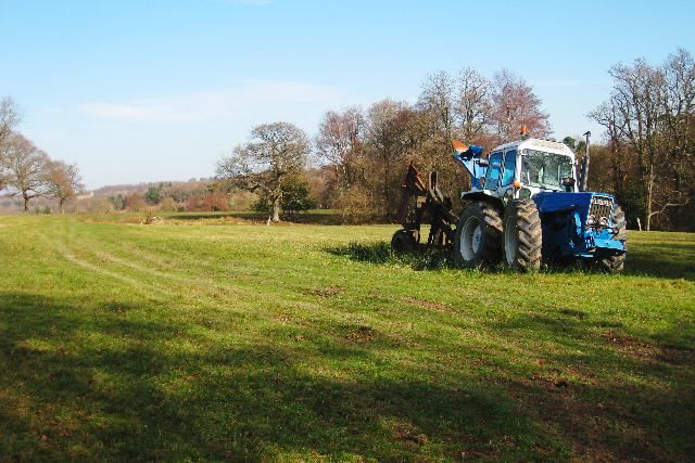 Tractor at Baldwin's Farm