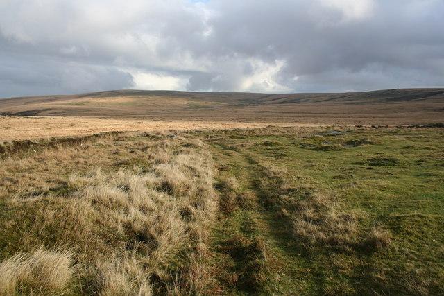 Bridleway across Foxtor Mires