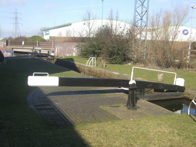 Ryder's Green Locks - Walsall Canal - Lock No 7