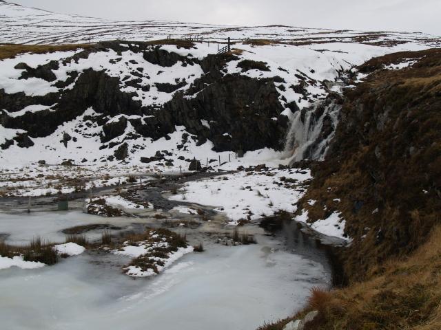 Old quarry above Lochdrum