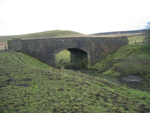 Railway Bridge over dismantled railway