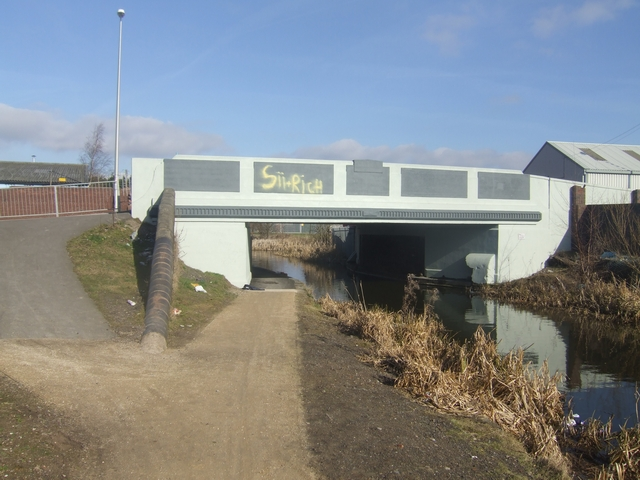 Wednesbury Old Canal - Belper Bridge