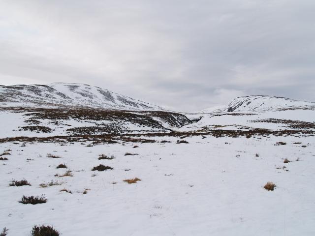 Upper valley, Allt Alrigh nan Coimh'each