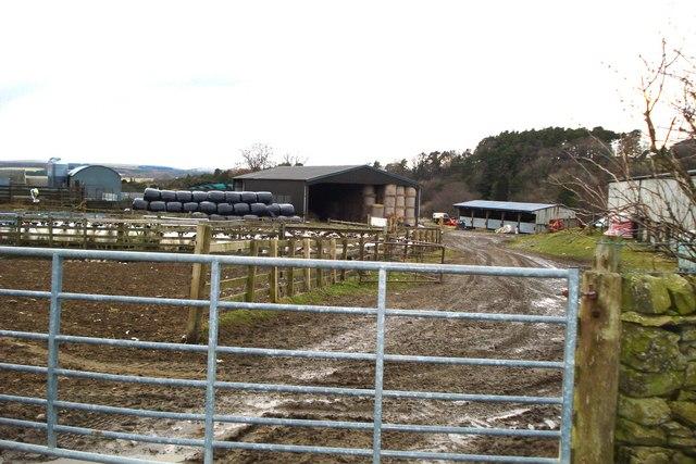Gateway into Boreland Farm