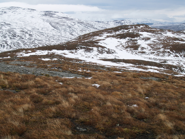 SE ridge, Meall Feith Dhiongaig