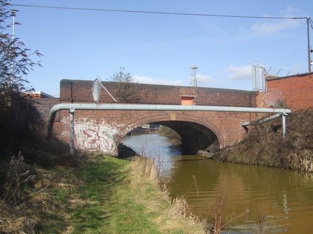 Wednesbury Old Canal - Hadley Bridge