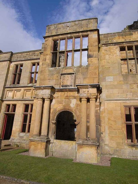 17th century Manor House at Belsay Castle