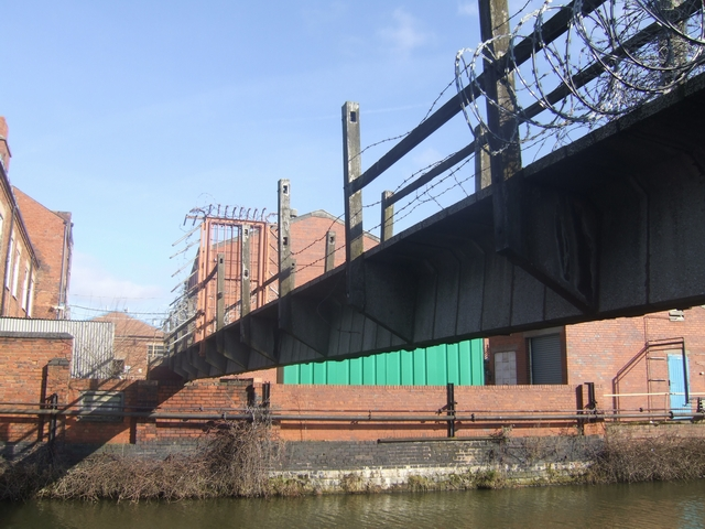 Wednesbury Old Canal - Factory Access Bridge