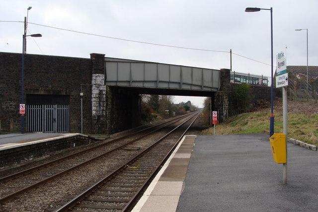 Station and Bridge, Bynea