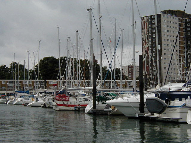 Flats from Haslar Marina