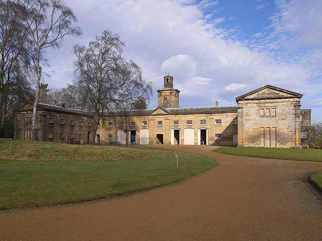 Stable block, Belsay Hall