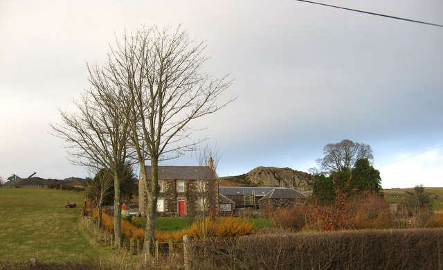 A view of Craighouse Farm