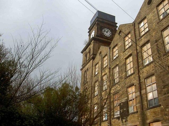 Newsome mill clock tower