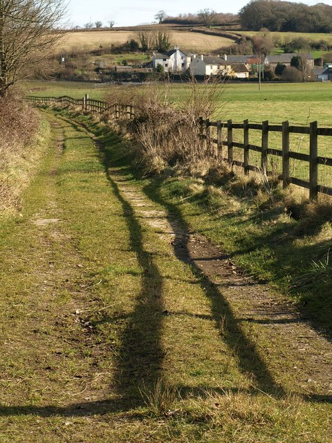 Path to Bellamarsh Barton