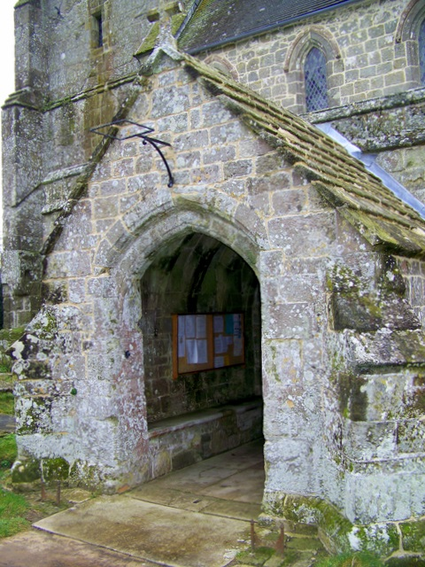 Porch, St Mary's Church, Donhead St Mary