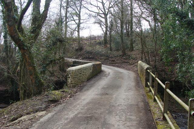 Bridge over the Afon Morlais
