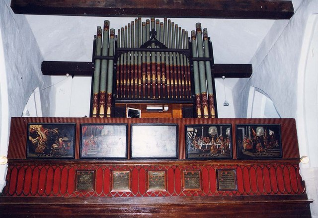 St James, Yarmouth - Organ loft