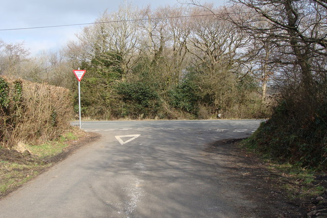 Junction with the B4306
