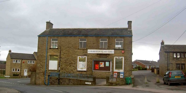 Highburton village stores