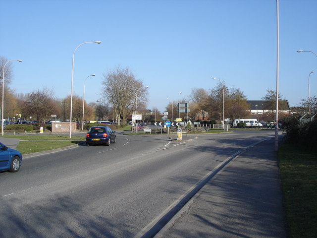 Chichester - roundabout on Via Ravenna