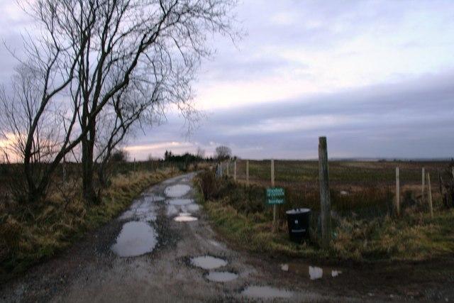 Road to Woodside.