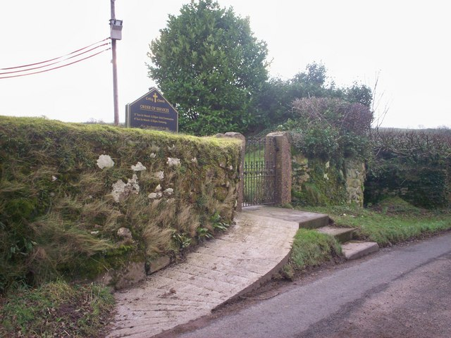 Entrance to Ciffig, Church