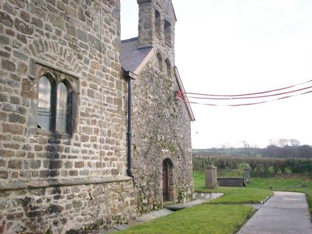 Western Side, Ciffig Church