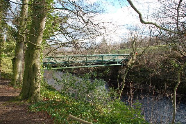 Road bridge over River Nidd at Glasshouses