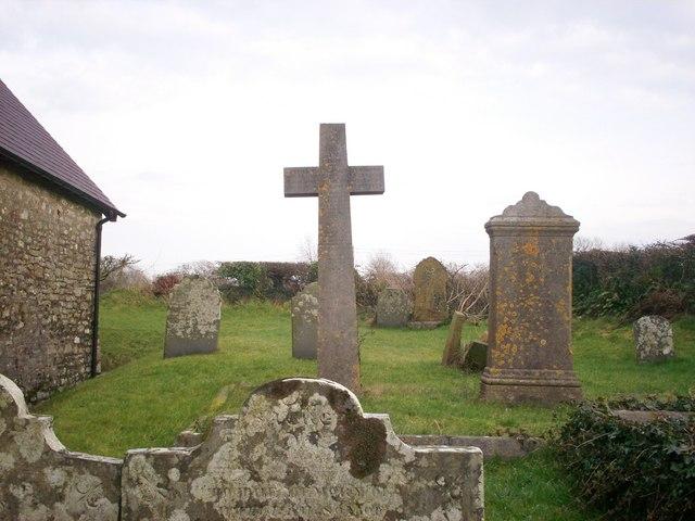 Southern Graveyard, Ciffig Church