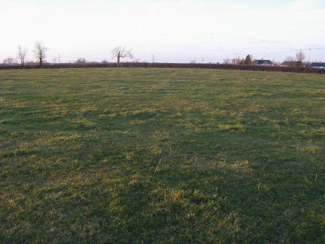 Field down to Arncott Road